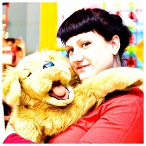 Ffyona &  Sam the Storyteller puppet