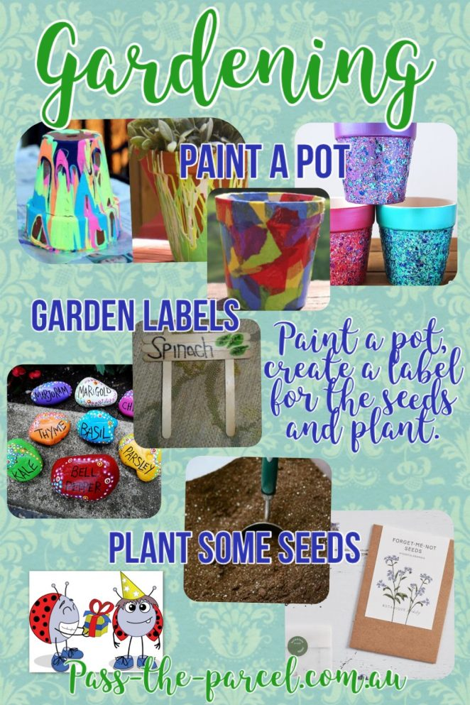 Themed craft activities